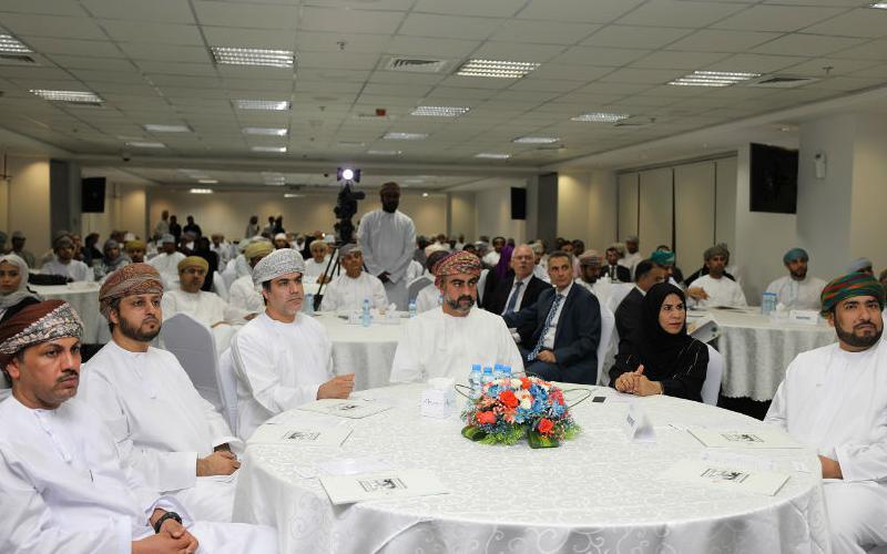 صاحب السمو السيد/ تيمور بن اسعد ال سعيد يرعى حفل تكريم الفائزين في برنامج تحويل مشاريع التخرج الى شركات ناشئة