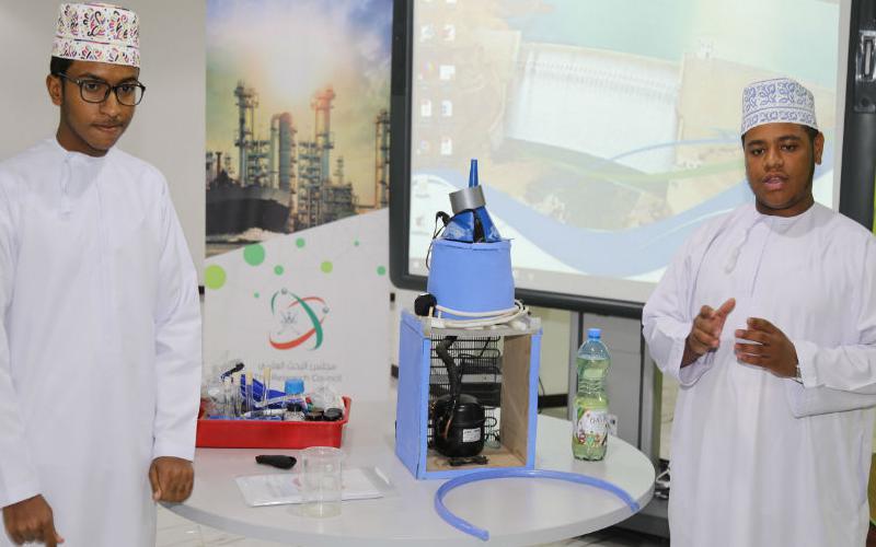 تقييم المشاركين في فئة الابتكارات، وفئة المبتكر الناشئ في جائزة البحوث والابتكارات في مجال المياه للدورة الثانية